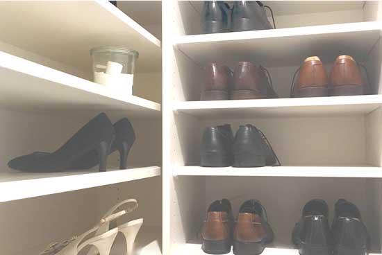 靴箱のにおいを重曹で脱臭