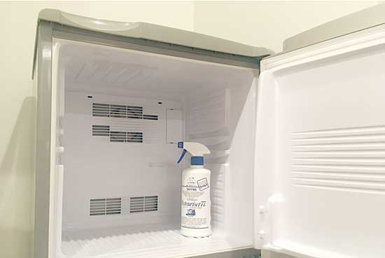 キッチン冷蔵庫のオキシクリーン掃除