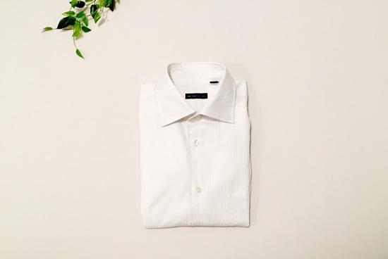 ワイシャツをオキシ漬けで洗濯