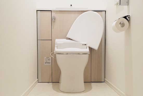 トイレの水垢をオキシクリーンで掃除
