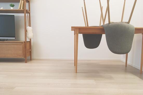 床・フローリングをウタマロクリーナーで掃除